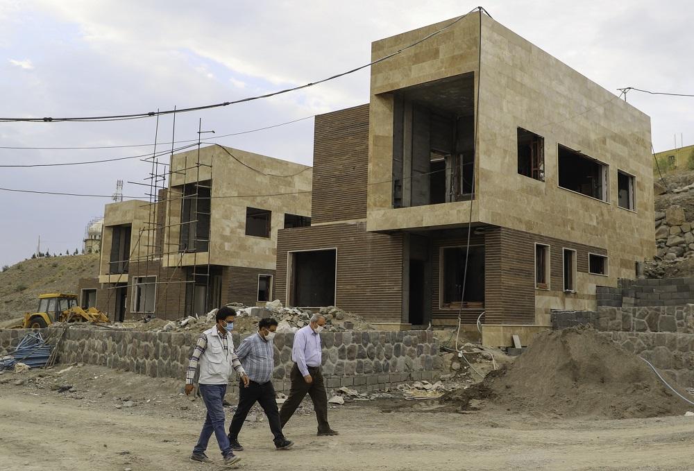بازدید مهندس کتانباف از پروژه مجموعه گردشگری بافت- مرداد1399
