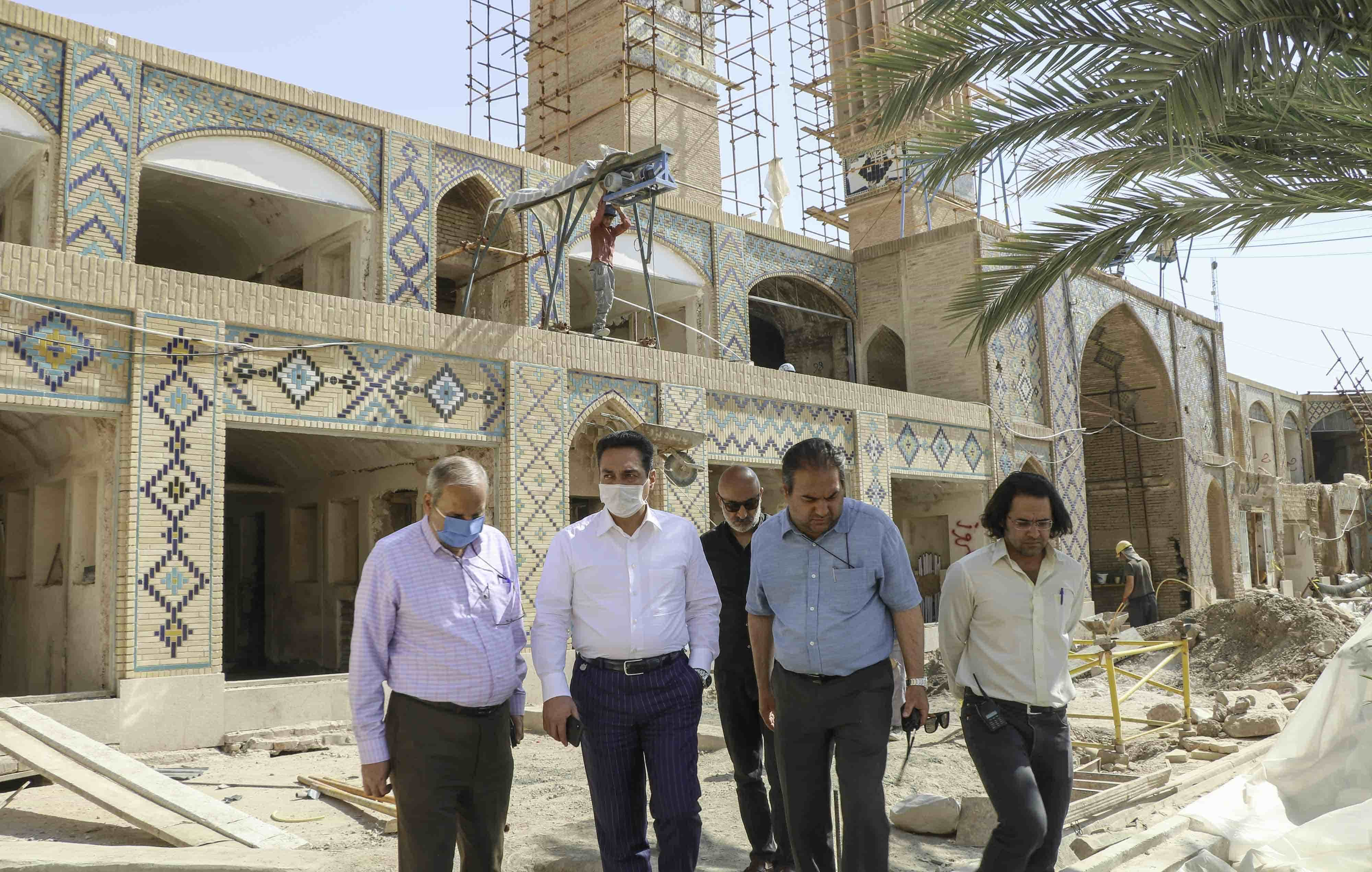 بازدید آقای غیاثی نژاد رئیس هیئت مدیره شرکت تندیس