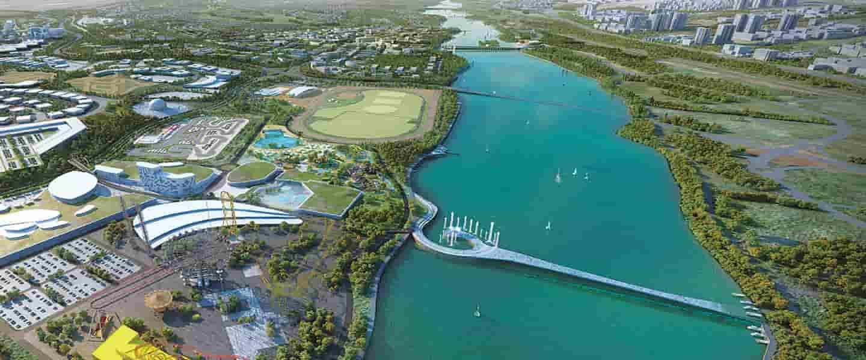 احداث دریاچه تفریحی ورزشی سرزمین ایرانیان