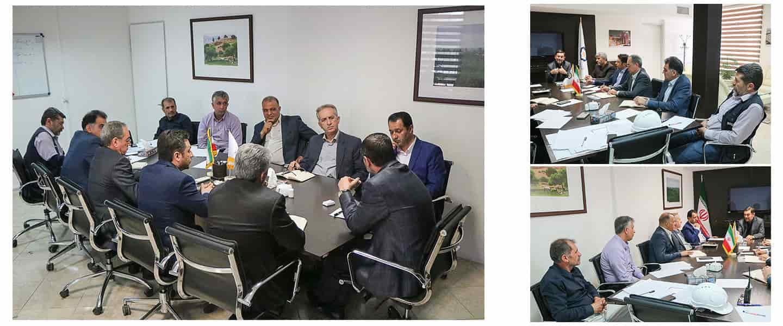 برگزاری جلسه شورای فنی مدیران و سرپرستان پروژه ها