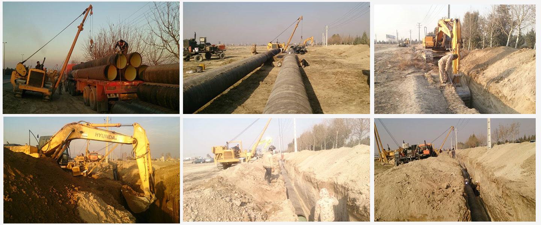 پروژه اجرای خط انتقال لوله آب به طول 17.5 کیلومتر  به مجموعه سرزمین ایرانیان