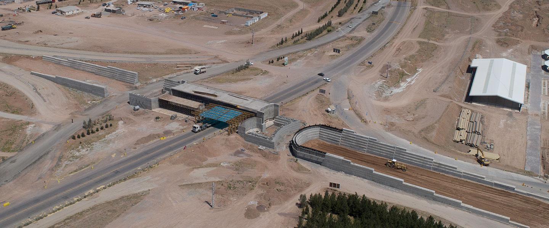 پروژه اجـرای دهانه پل ، رمپ ، عملیات خاکی و آسفالت  سرزمین ایرانیان (آیلند)