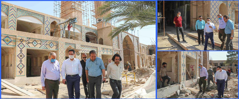 رئیس هیئت مدیره  شرکت تندیس از پروژه های این شرکت در استان کرمان بازدید کردند