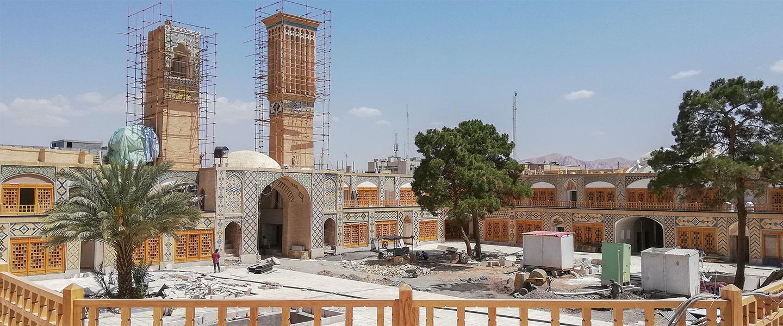 پروژه مرمت و بازسازی کاروانسرای وکیل کرمان